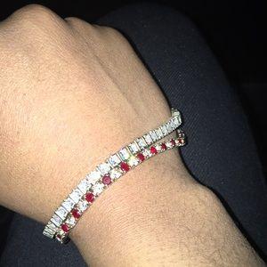 Jewelry - Ruby and Red Diamond bracelet